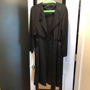 Zara Flowy Trench coat